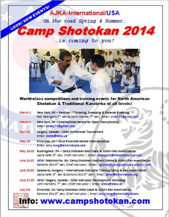 camp shotokan-2014